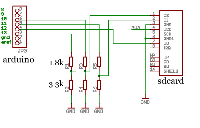 sd card to usb adapter schematic